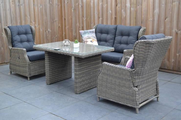 Luxe tuinmeubelen en loungesets voor betaalbare prijzen door oude