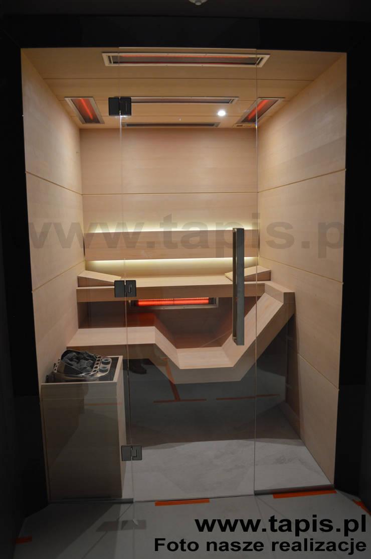 Sauna Modern o wymiarach 190x220cm: styl , w kategorii  zaprojektowany przez TAPIS.PL,Nowoczesny
