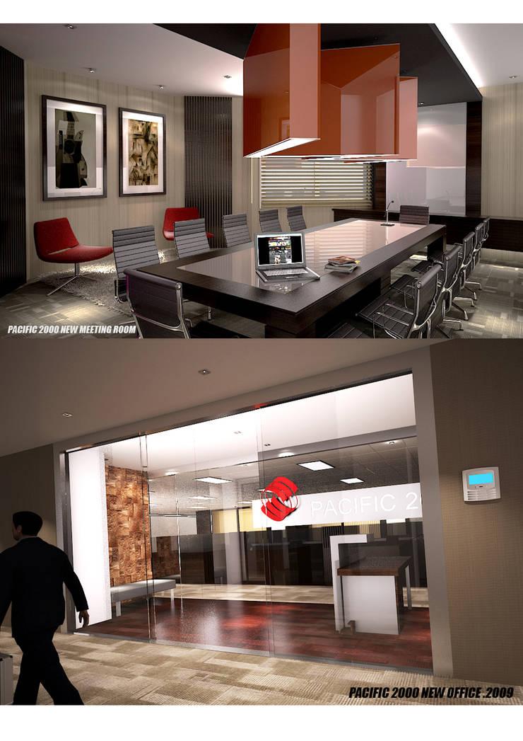 PACIFIC 2000:  Gedung perkantoran by sony architect studio