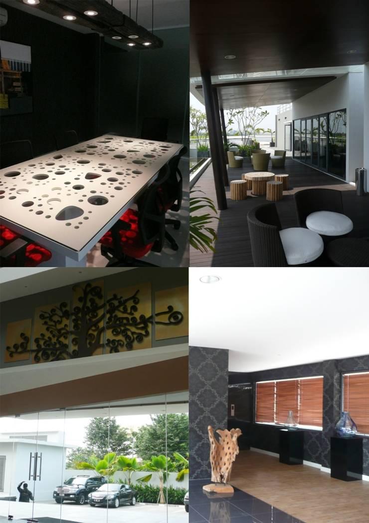 PRINTINDO UTAMA:  Gedung perkantoran by sony architect studio