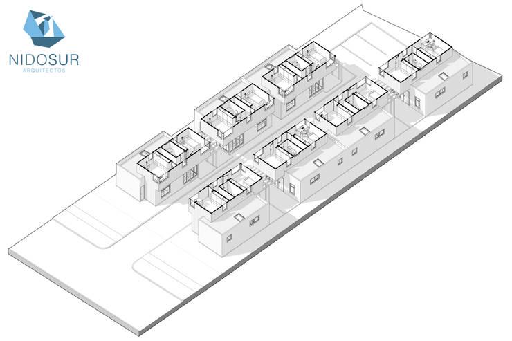 MasterPlan:  de estilo  por NidoSur Arquitectos