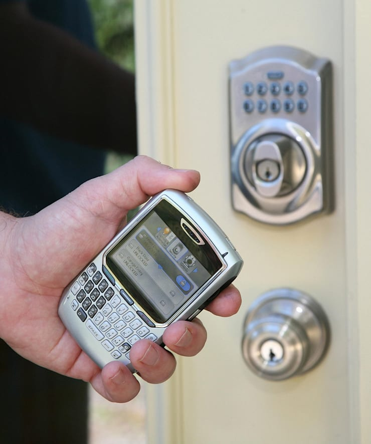 Smart Lock System Installation:   by Locksmith Boksburg