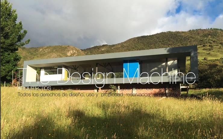 casa de campo guatavita : Habitaciones de estilo  por  Arquitectura Modular Residencial Comercial Interiorismo