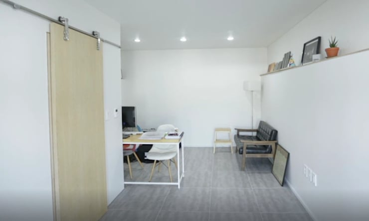 성북동 주택 : GongGam Urban Architecture & Construction의  거실