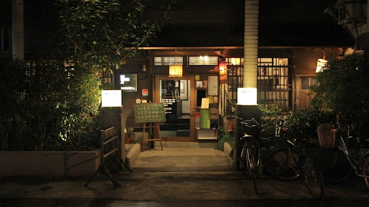 賣捌所 urisabakisho:  餐廳 by Co*Good Design Co. Ltd.