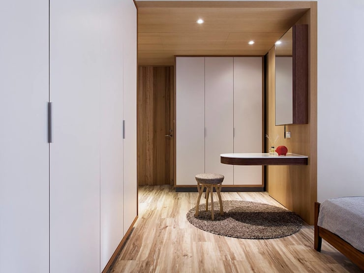 New life:  臥室 by Co*Good Design Co. Ltd.