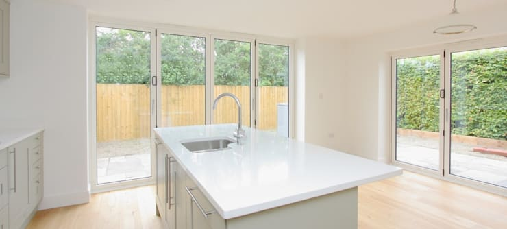 2 Detached Houses in Wiltshire: modern Kitchen by D&N Construction Limited