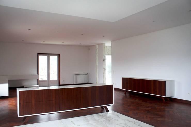 Dining room by GRAU.ZERO Arquitectura, Modern