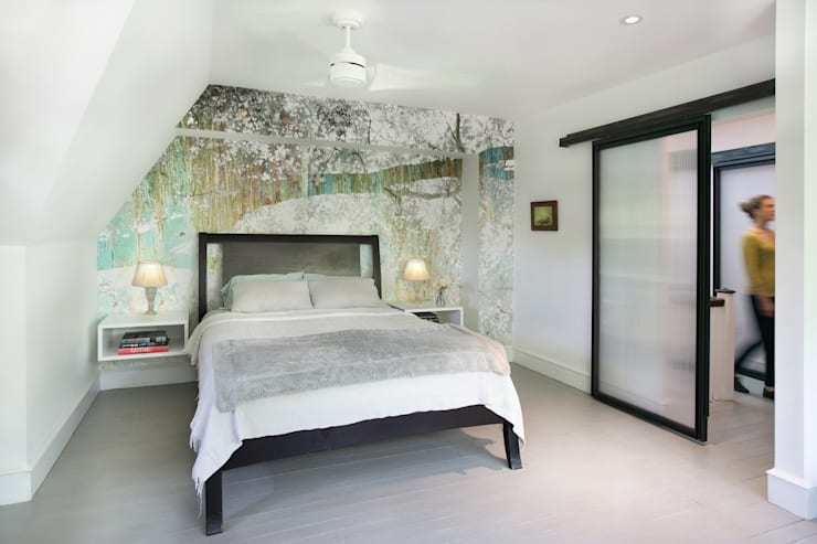 Klaw House: minimalistic Bedroom by Metcalfe Architecture & Design