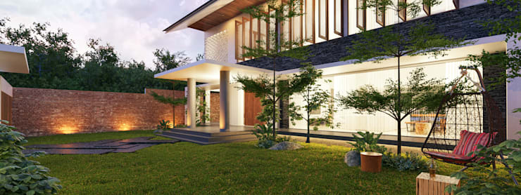 VILLA PUTRI:   by sony architect studio