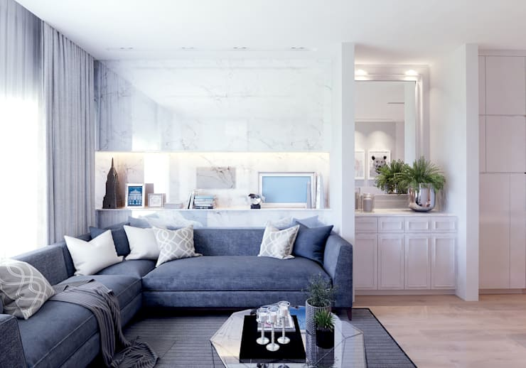 LIVING AREA APARTEMENT:   by BDARSITEK