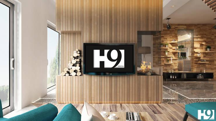 غرفة المعيشة تنفيذ H9 Design