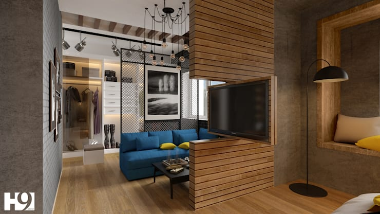 غرفة نوم تنفيذ H9 Design