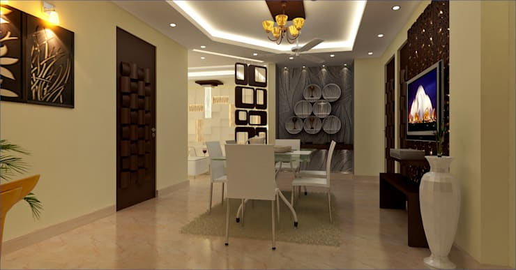 Residential Project: modern Dining room by Mi-Decor