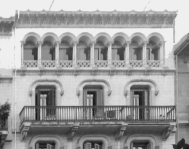 Fachada original : Escaleras de estilo  de projectelab