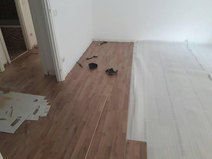 Pavimento in gres porcellanato effetto legno ristrutturazioni