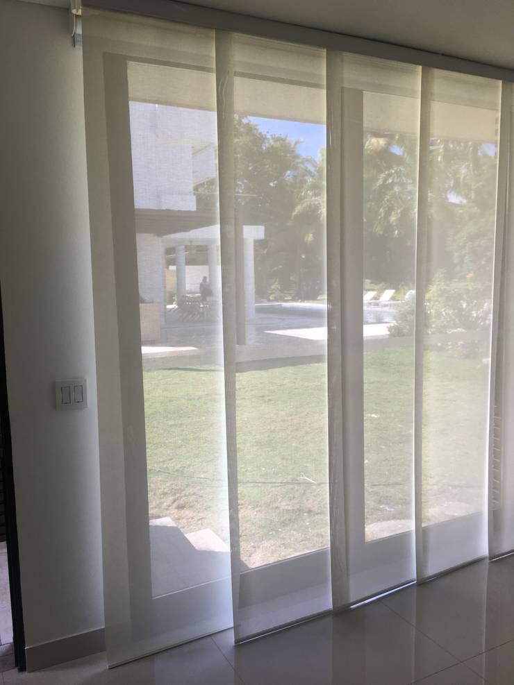 EL PEÑON - Remodelación de casa y piscina :  de estilo  por Tesla Technologies