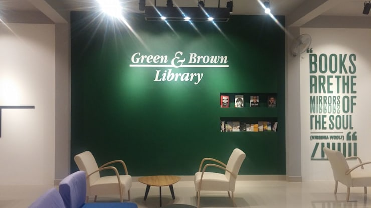Hiệu sách kiểu mới Green & Brown:   by Công ty Cổ phần truyền thông ATH Việt Nam