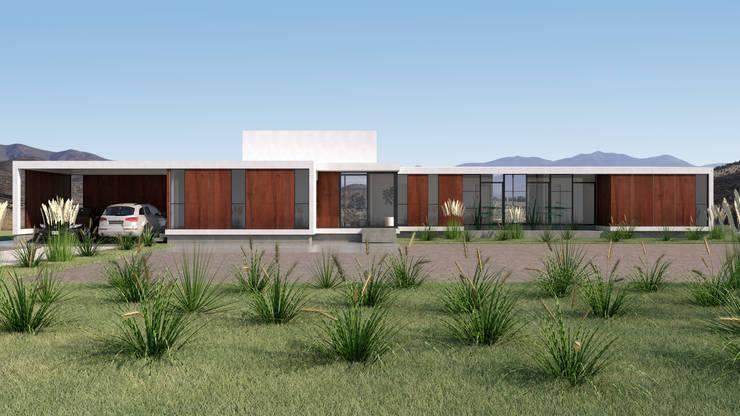 Vivienda Las Animas: Condominios de estilo  por Uno Arquitectura