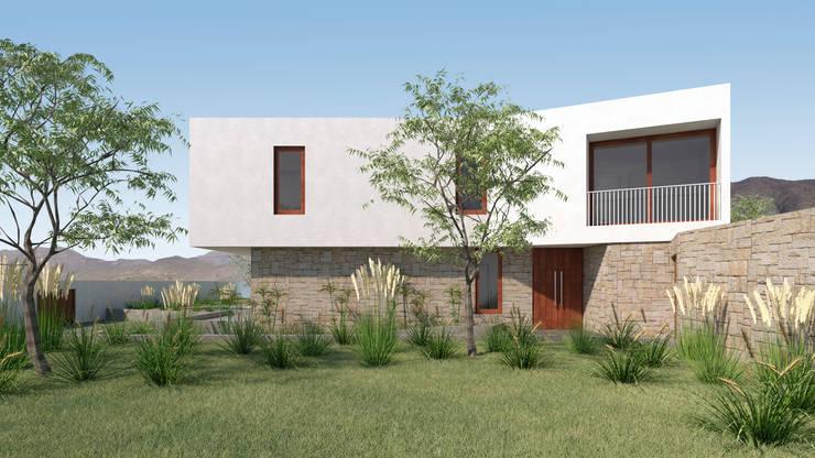 Vivienda La Chimba: Casas unifamiliares de estilo  por Uno Arquitectura