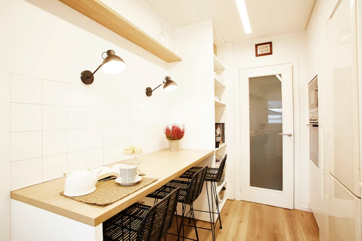 Built-in kitchens by Laia Ubia Studio