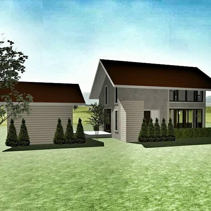 loft house:   by simply fine studio