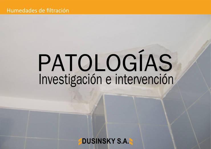 PATOLOGÍAS:  de estilo  por DUSINSKY S.A.