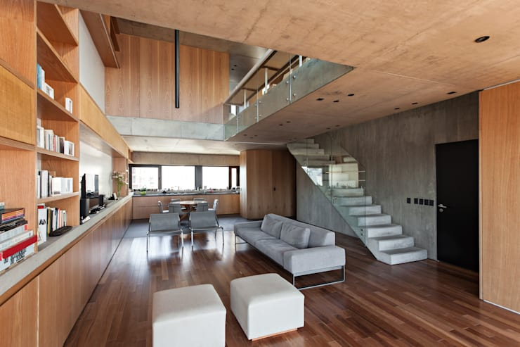 Living room by ATV Arquitectos