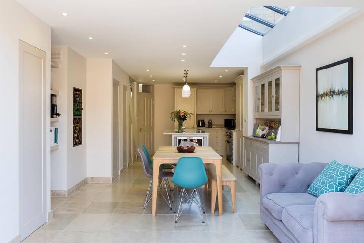 Sala comedor y cocina en un solo espacio 20 ejemplos for Sala y comedor completos