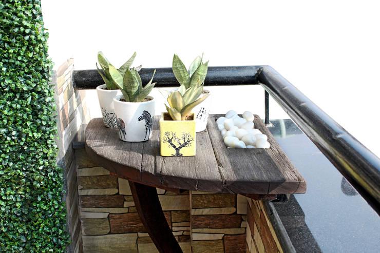 Corner Shelf: rustic Garden by Grecor