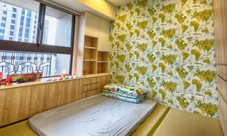 Habitaciones para niños de estilo  por 凡岩建築空間整合