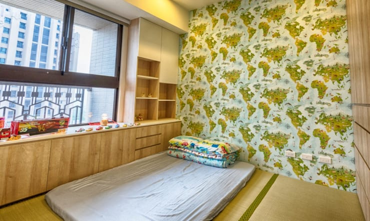 Boys Bedroom by 凡岩建築空間整合