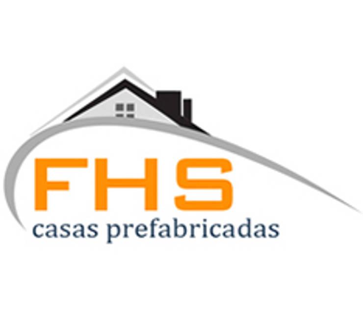 平房 by FHS Casas Prefabricadas, 現代風 鐵/鋼