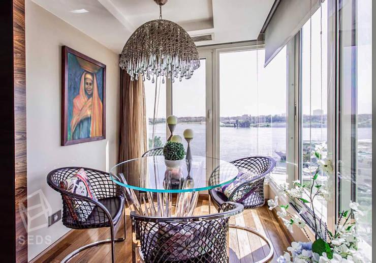 Maadi Apartment:  بلكونة أو شرفة تنفيذ info10624