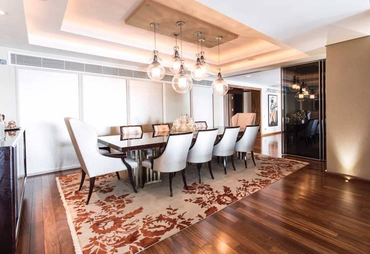 Maadi Apartment:  غرفة السفرة تنفيذ info10624