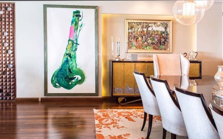 Maadi Apartment:  غرفة السفرة تنفيذ info10624,