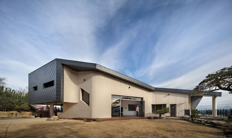 DASA House: 'Snow AIDe의  전원 주택,모던