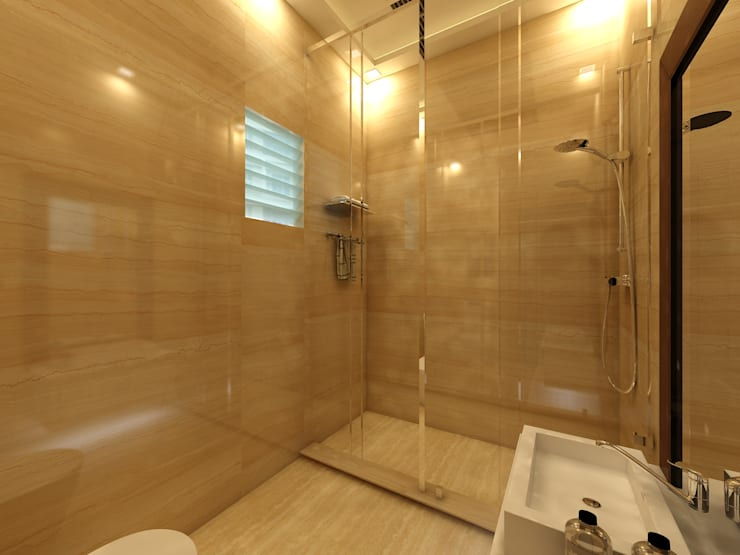 Bathroom: modern Bathroom by Regalias India Interiors & Infrastructure