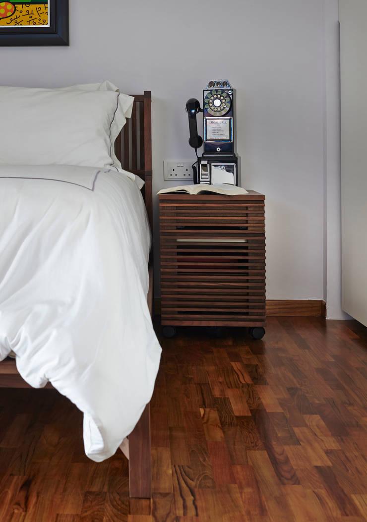 CLEMENTI PARK:  Bedroom by Eightytwo Pte Ltd,Scandinavian