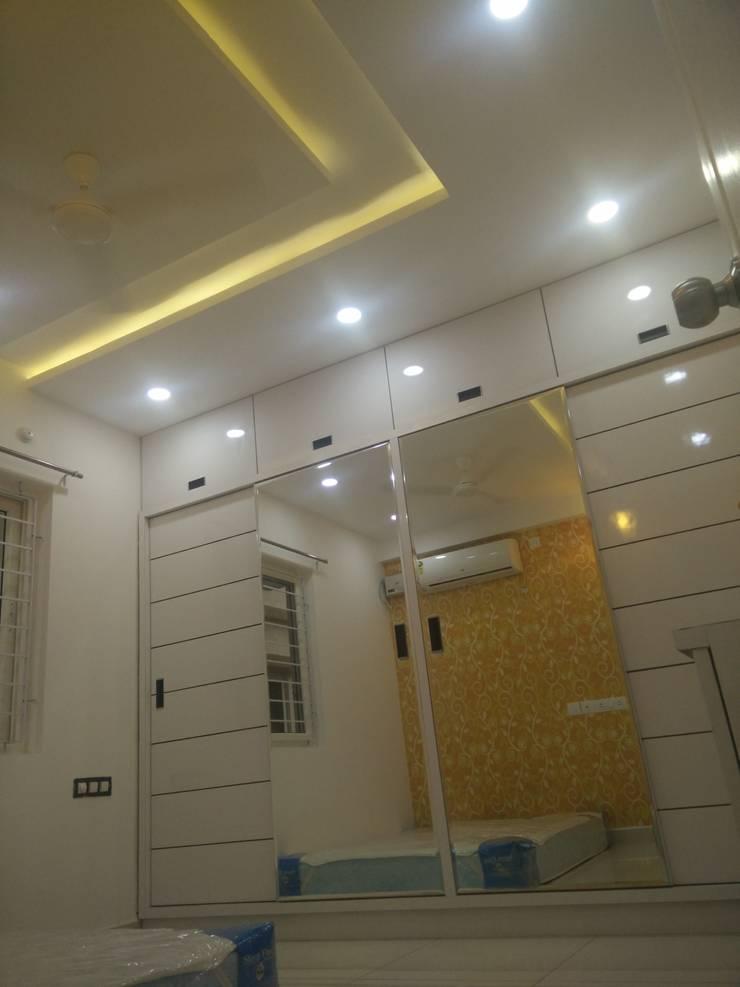 3BHK Aparna Cyberzone E Block 1440sqft Turn Key project: modern  by Enrich Interiors & Decors,Modern Plywood