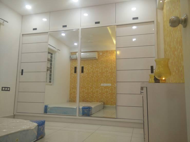 3BHK Aparna Cyberzone E Block 1440sqft Turn Key project: modern  by Enrich Interiors & Decors,Modern