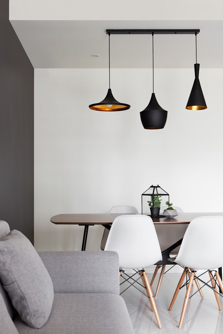 ECOPOLITAN 2:  Dining room by Eightytwo Pte Ltd,