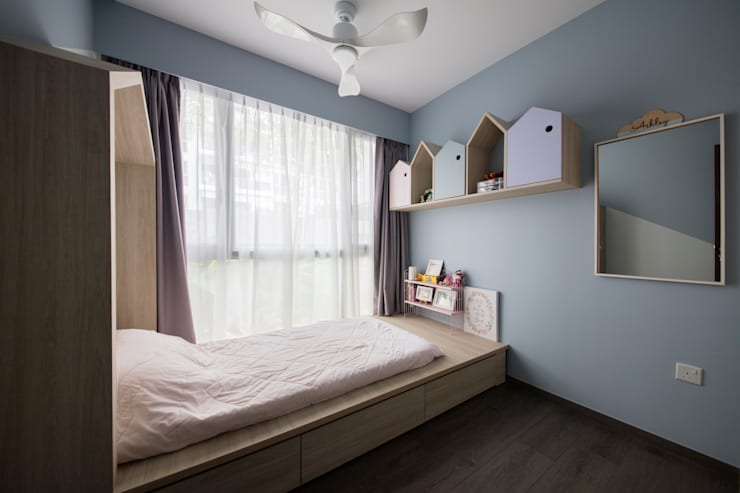 ECOPOLITAN:  Bedroom by Eightytwo Pte Ltd
