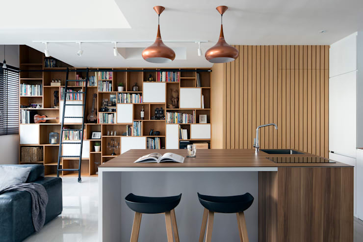 KING ALBERT PARK RESIDENCES:  Dining room by Eightytwo Pte Ltd,Scandinavian