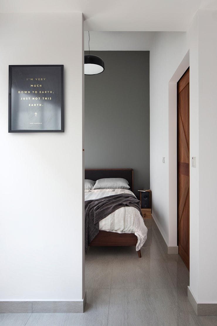 KING ALBERT PARK RESIDENCES:  Bedroom by Eightytwo Pte Ltd,Scandinavian