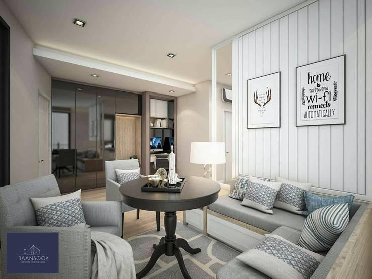 333Riverside:   by BAANSOOK Design & Living Co., Ltd.