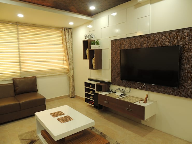 Dwarka sector 19B:  Bedroom by CREDENCE INTERIO