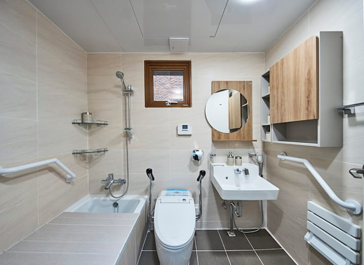 浴室 by 주식회사 착한공간연구소
