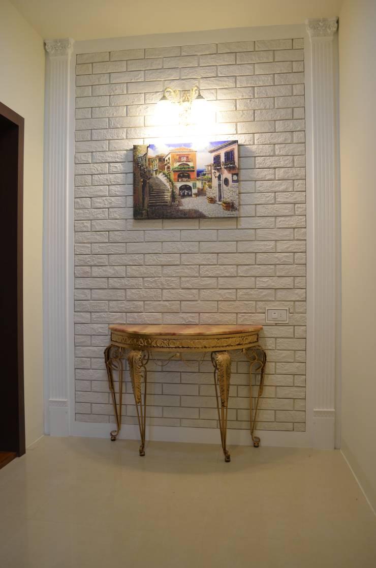 樓梯間牆面:  牆面 by Gavin室內裝修設計