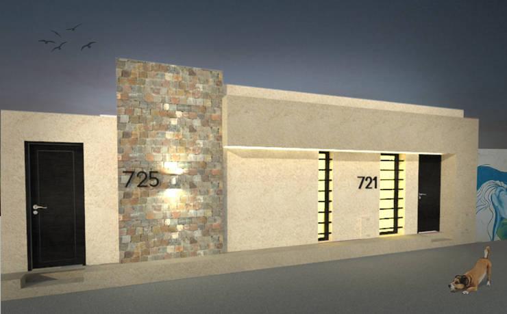Casa Norita : Casas unifamiliares de estilo  por CRea - Arquitectura + Diseño,